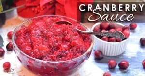 no sugar added cranberry sauce keto friendly