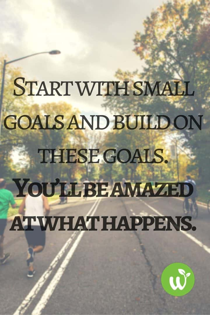 PIN Start with small goals