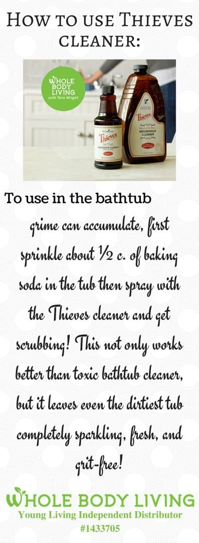 Thieves Cleaner : Use In The Bathtub