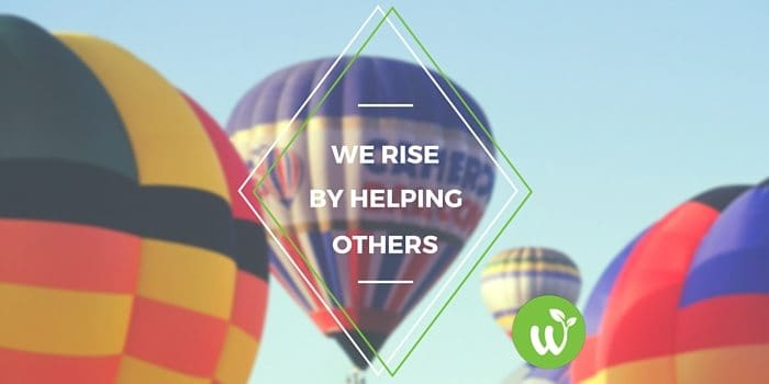 HB we rise by lifting others