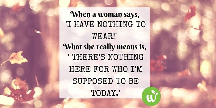 HB when a woman says