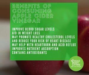 FB Benefits of Consuming Apple Cider Vinegar