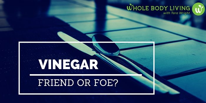Vinegar: Friend or Foe Is Vinegar a good natural cleaner? We answer...