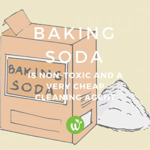 how to use baking soda for cleaning