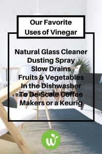 Is vinegar a good natural cleaner? see our favorite vinegar uses