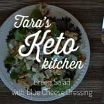 Easy Keto Blue Cheese Dressing with Kefir