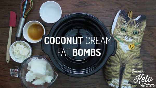Coconut Cream Fat Bomb