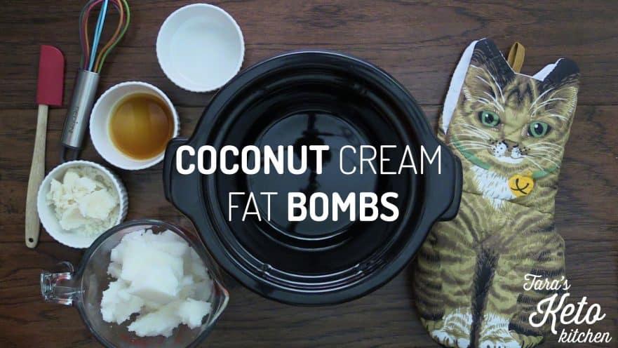 Coconut Cream Fat Bomb