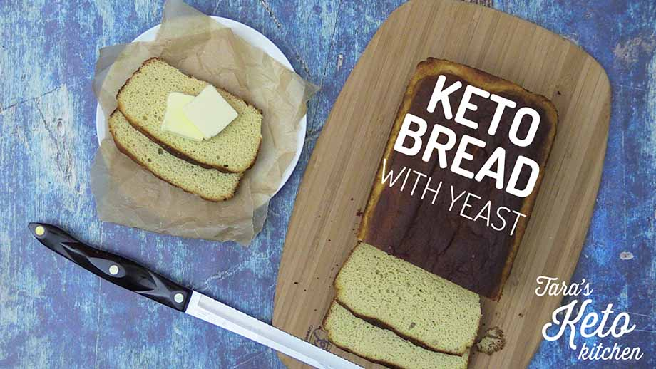 Keto Coconut Flour Bread With Yeast Dairy Free Tara S Keto Kitchen