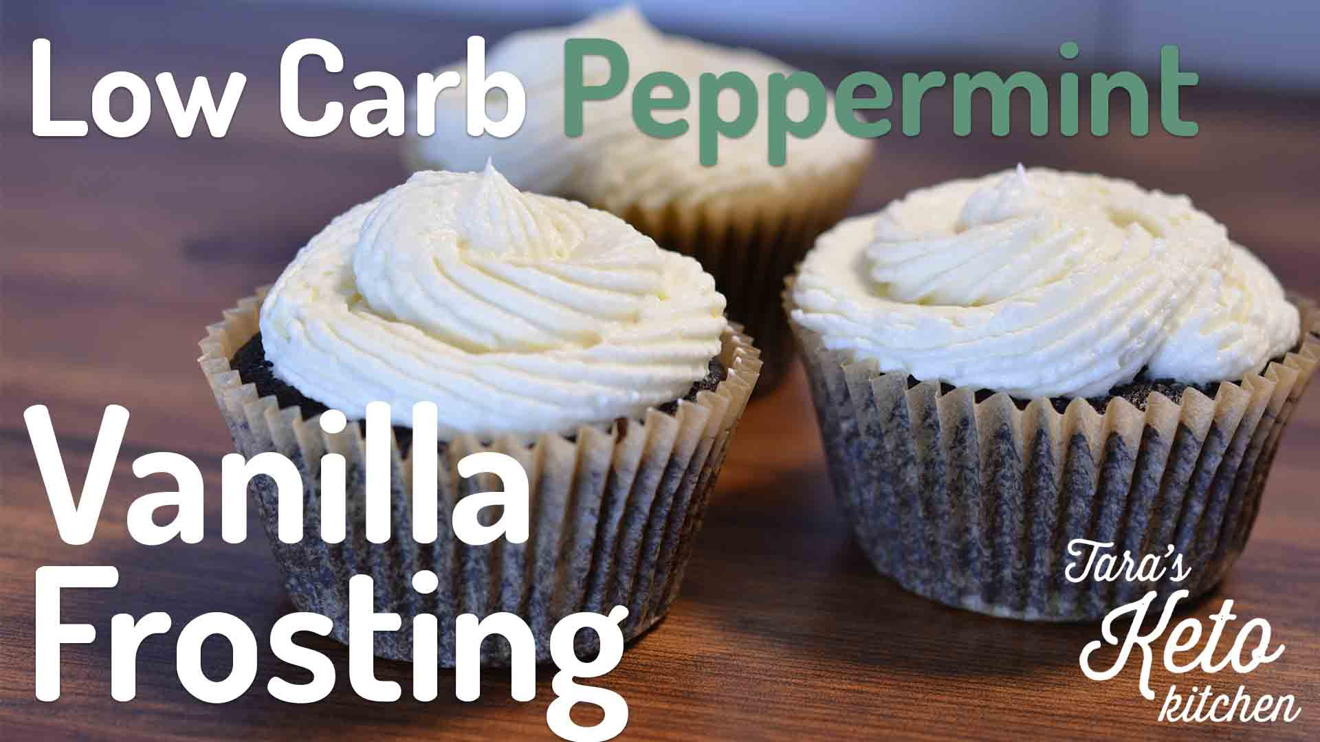 Low Carb Vanilla Frosting keto frosting