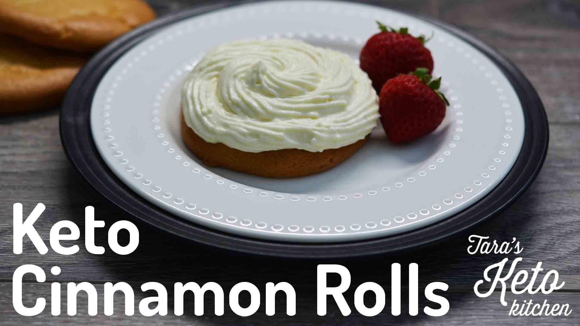 Easy Keto Cinnamon Rolls