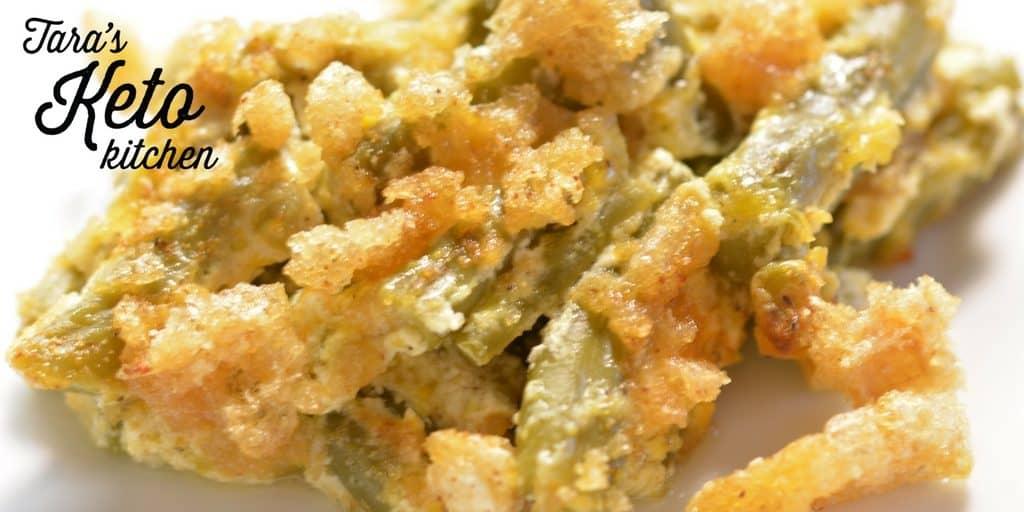 Keto Green Bean Casserole