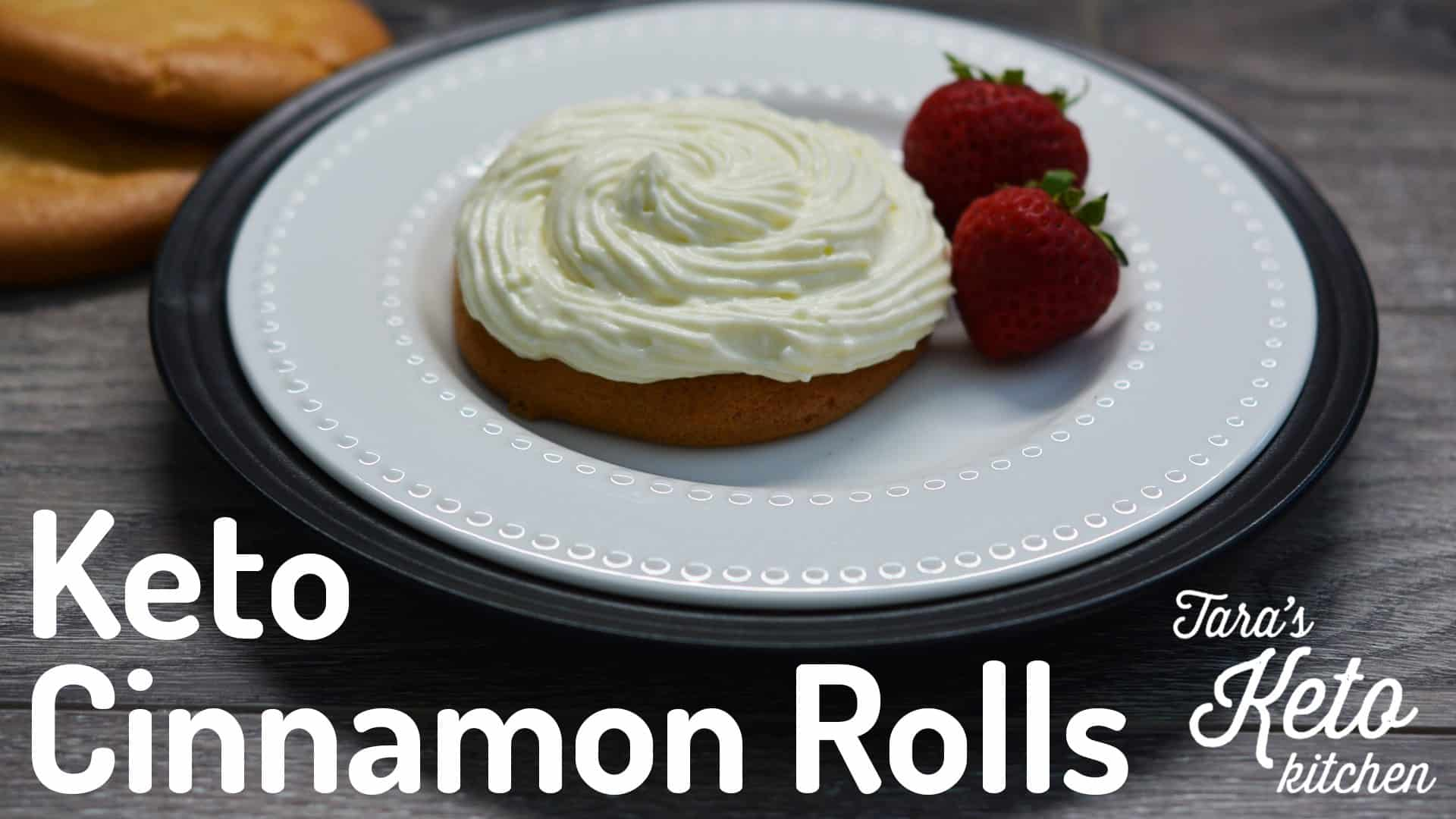 easy keto cinnamon rolls with delicious keto cream cheese frosting