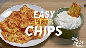 How To Make Keto Chips with cheese