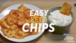 easy keto chips