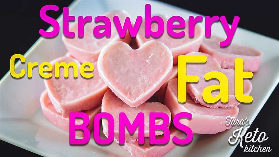 Strawberry Creme Fat Bombs How To Make Fat Bombs