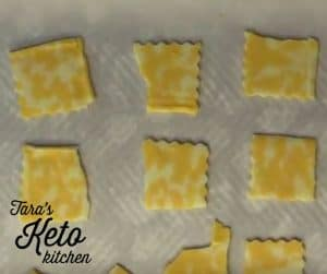 easy keto chips preparation