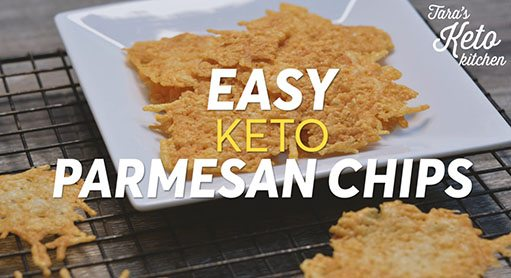 keto parmesan chips Easy Keto Chip Recipe