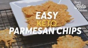 keto parmesan chips