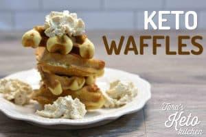 Perfect Keto Waffles