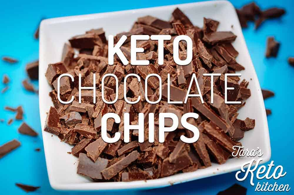 Keto Chocolate Chips Homemade Chocolate Chip Recipe