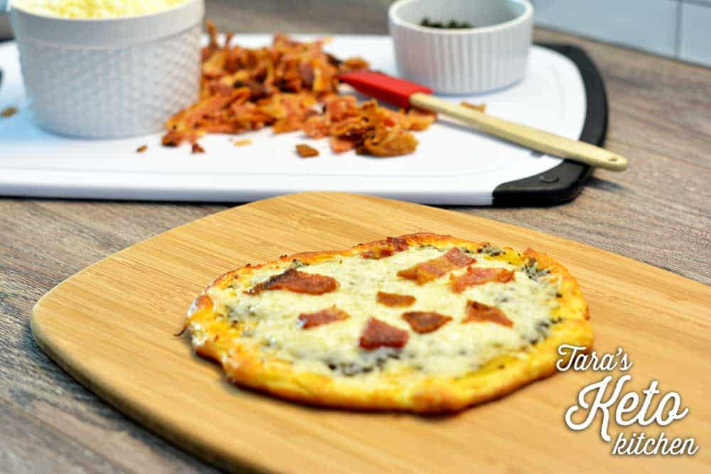 Keto Low Carb Coconut Flour Pizza