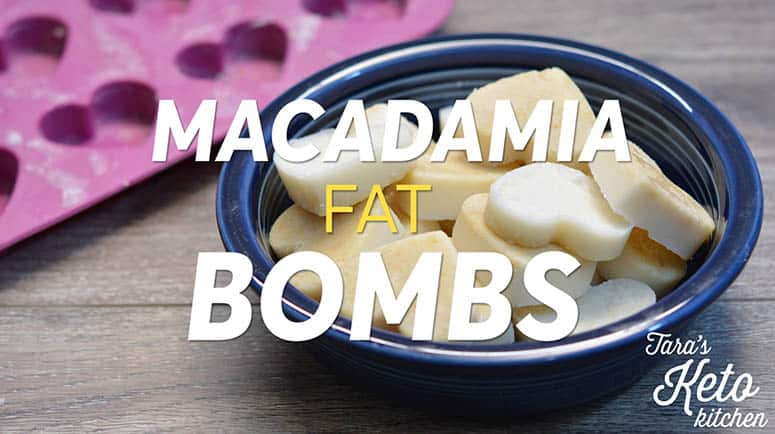 How to make fat bombs with macadamia nut butter