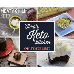tara's keto kitchen is on pinterest with keto recipe boards
