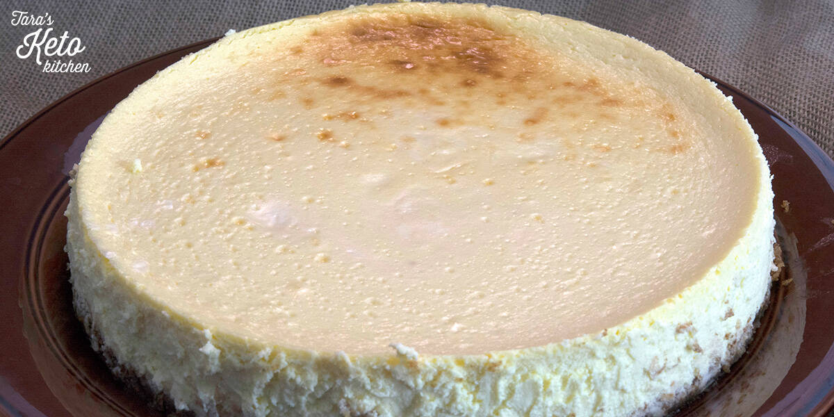 keto cheesecake whole
