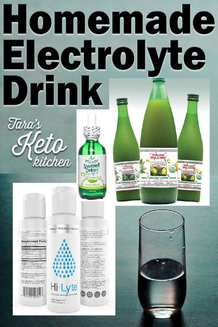 homemade electrolyte drink taras keto kitchen