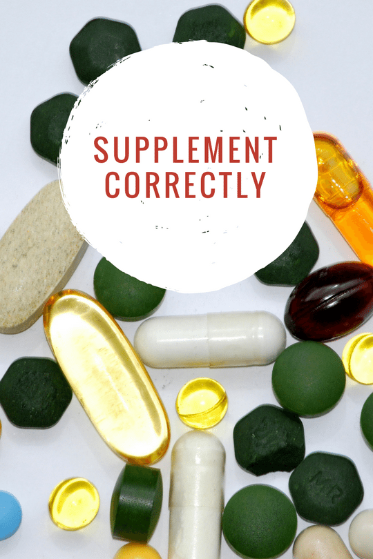 supplement nutrients correctly to lose weight rapidly