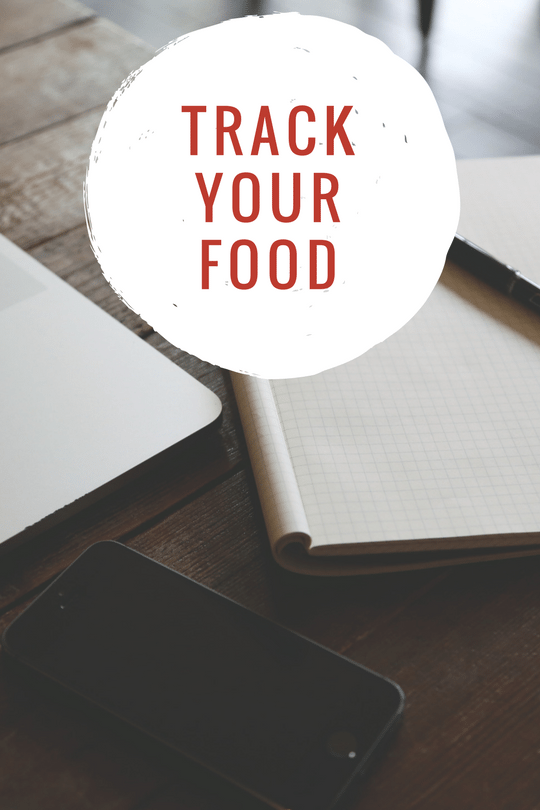 track your food to lose weight fast