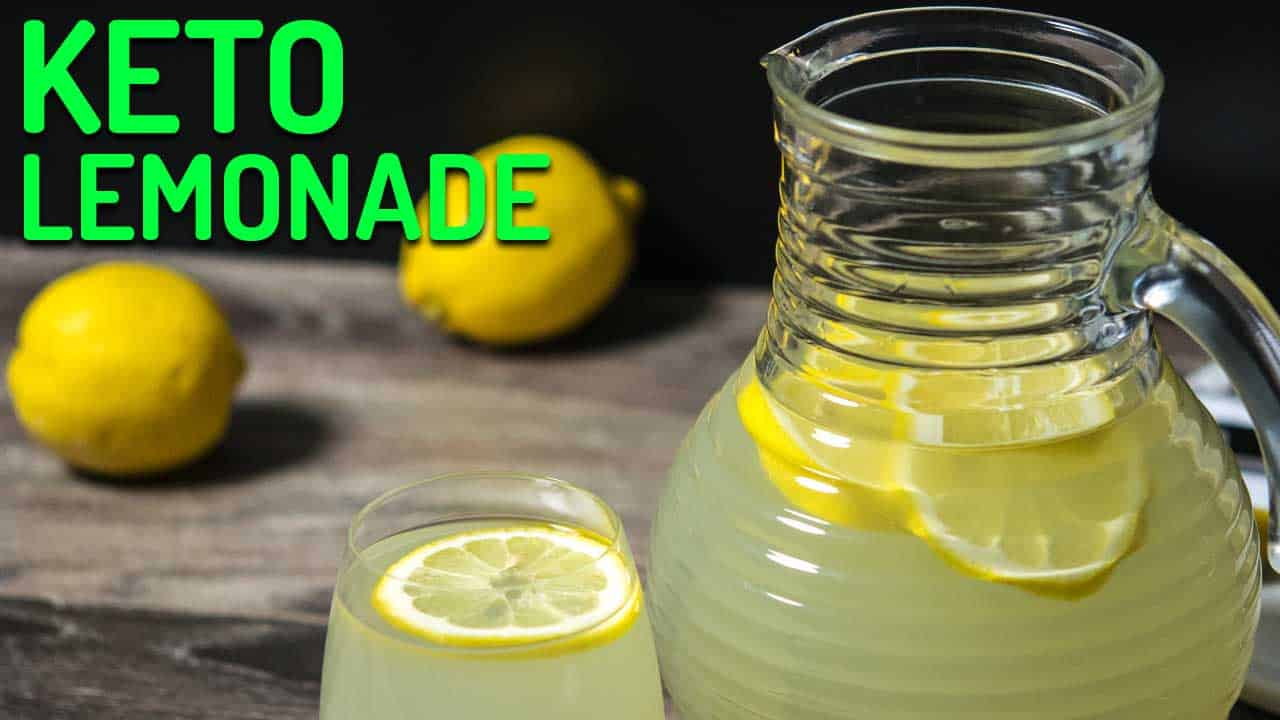 keto lemonade recipe