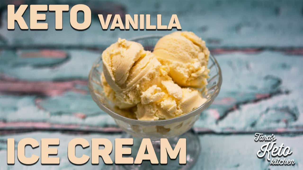 keto vanilla ice cream recipe link
