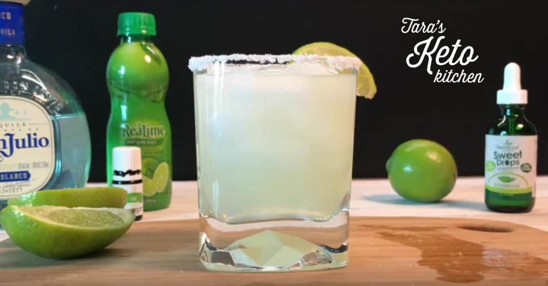 Low Carb Margarita 2