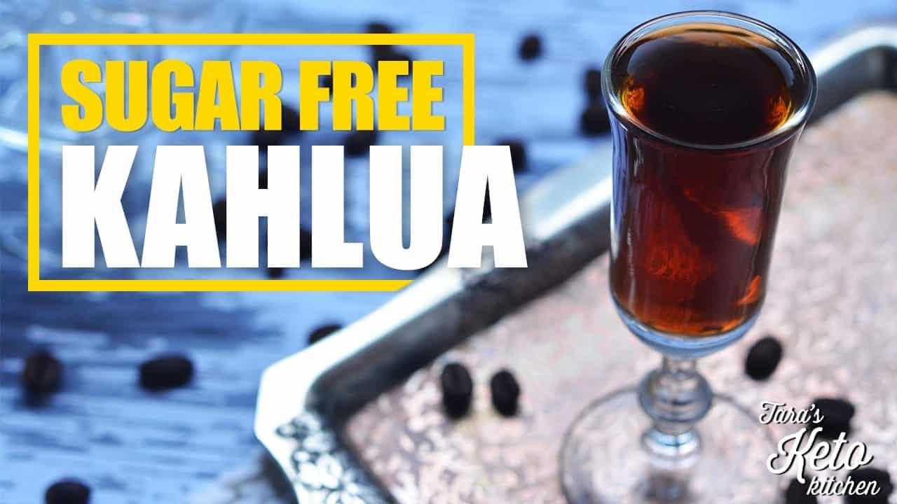 how to make homemade sugar free kahlua coffee liquor