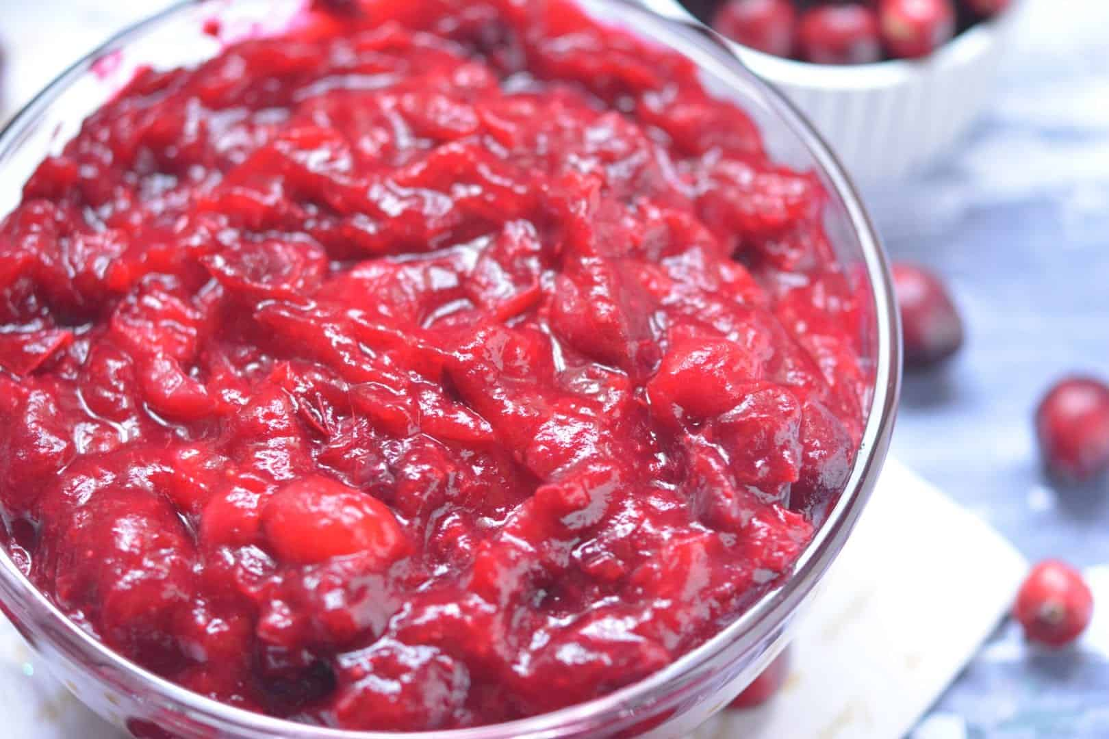 no sugar added cranberry sauce photo 3
