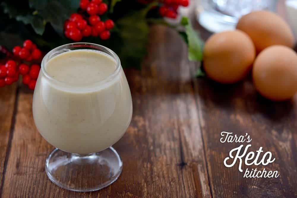 sugar free drink eggnog