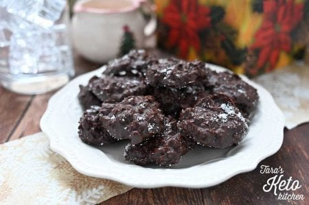 Dark Chocolate Toasted Coconut Clusters