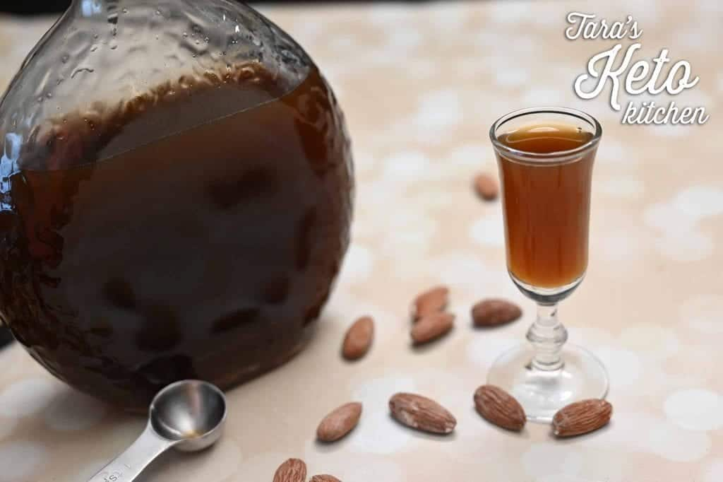 Sugar Free Amaretto recipe keto friendly amaretto