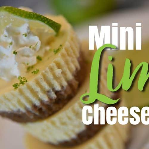 Mini Key Lime Cheesecakes_Blog post 600 x 335