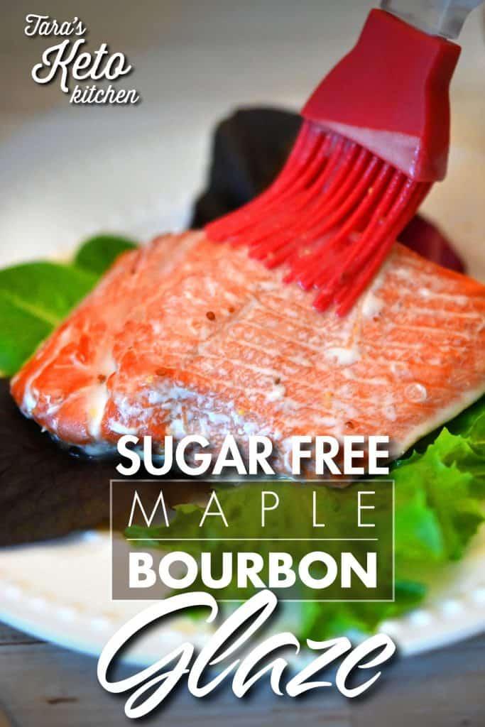 Sugar Free Maple Bourbon Glaze 2_blog post 600 x 900