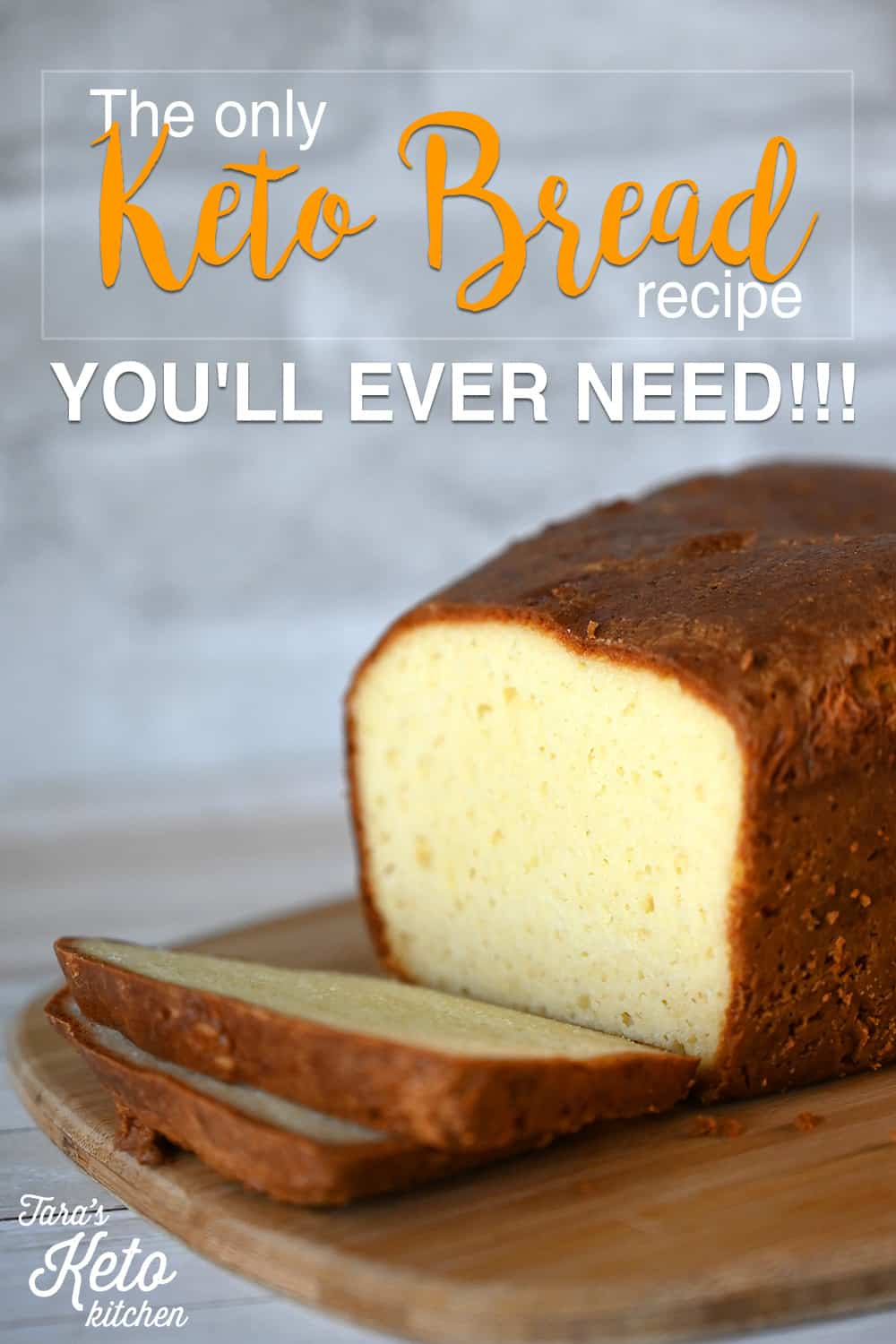 close up image Keto Bread loaf